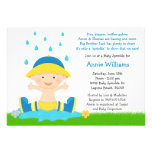 Baby Sprinkle Shower Invitation for Baby Boy
