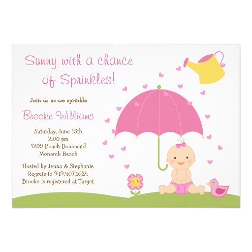 Baby Sprinkle Invitation Wording as perfect invitation ideas