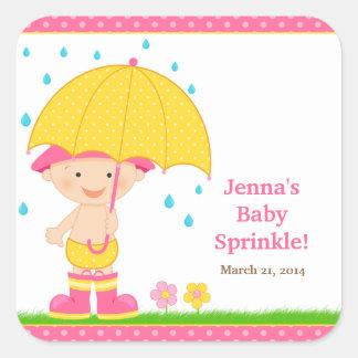 Baby Sprinkle Shower Sticker