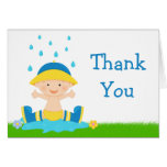 Baby Sprinkle Thank You Stationery Note Card