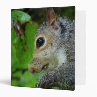 Baby Squirrel Avery Binder