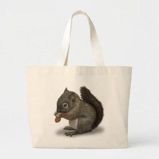 Baby Squirrel Jumbo Tote Bag