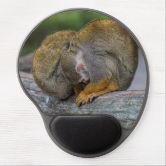 Baby Squirrel Monkey Gel Mouse Pad