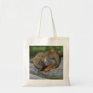Baby Squirrel Monkey Tote Bag