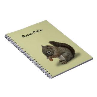 Baby Squirrel Journal