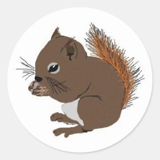 Baby Squirrel Sticker