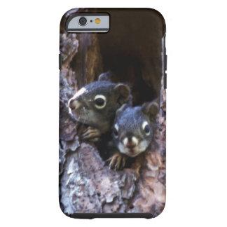 Baby squirrels tough iPhone 6 case