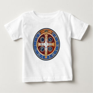 Baby St. Benedict Exorcism Medal T-Shirt