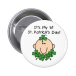 Baby St. Patrick's Day Buttons