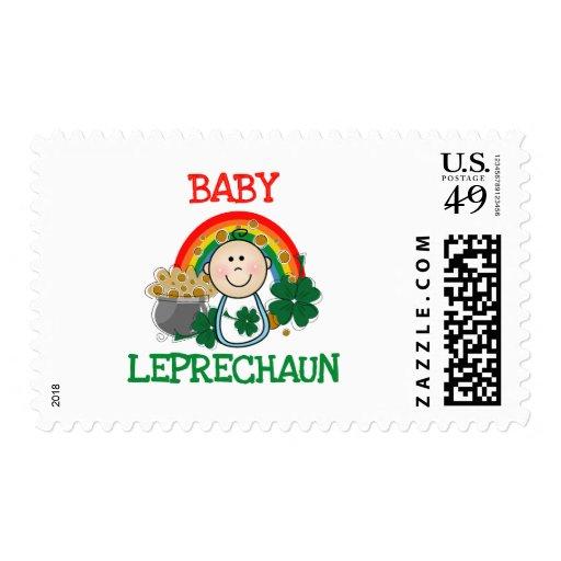 Baby St.  Patrick's Day Postage