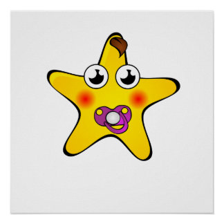 Baby Star Cartoon Posters