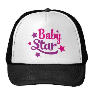 Baby star trucker hat