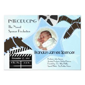 Baby Star is Born Blue Card