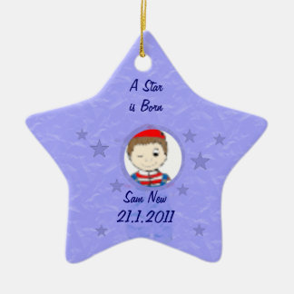 Baby Star Ornaments
