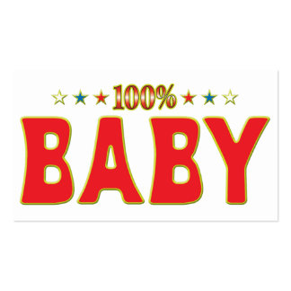 Baby Star Tag Business Card