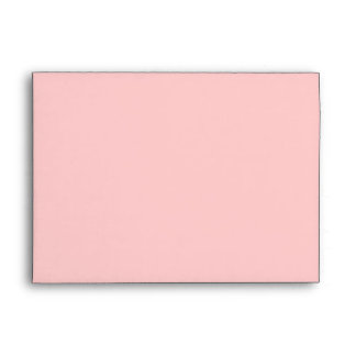 Baby Stars and Stripes Pink Envelope