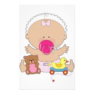 baby stationery