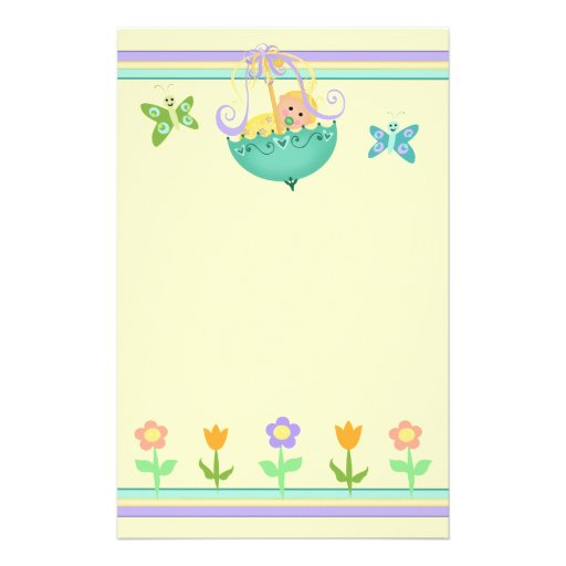 Baby Stationery / Scrapbook Paper