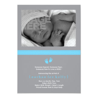 Baby Steps Birth Announcement