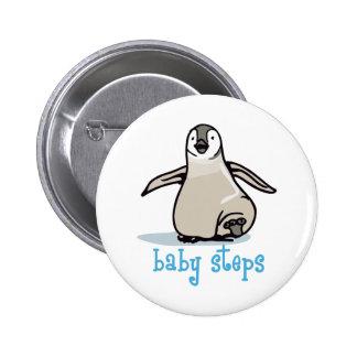Baby Steps 2 Inch Round Button