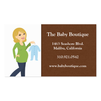 Baby Store Business Cards