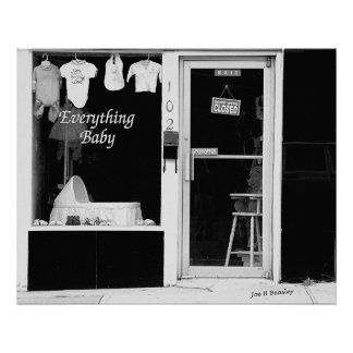 Baby Store-McMinnville Tennessee Poster