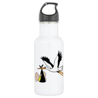 Baby & Stork - Bundle of Joy Stainless Steel Water Bottle