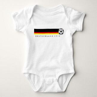 Baby Strampler football Germany WM 2010 Infant Creeper