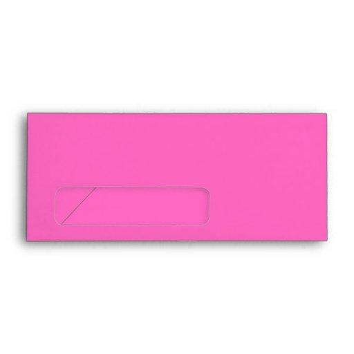Baby Stroller. Light Pink and Bright Pink. Envelopes