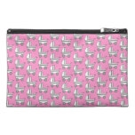 Baby Stroller Pattern on Pink. Travel Accessory Bag