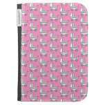 Baby Stroller Pattern on Pink. Kindle Keyboard Covers