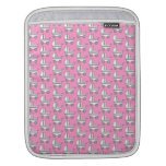 Baby Stroller Pattern on Pink. Sleeves For iPads