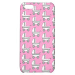 Baby Stroller Pern on Pink. Case For iPhone 5C