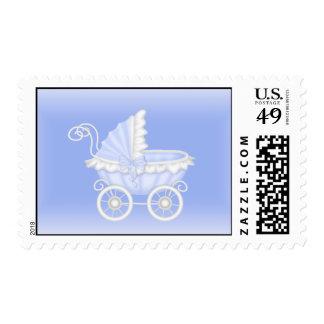 Baby  Stroller Shower Stamp