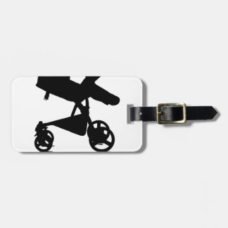Baby Stroller - This is How I Roll Tees.png Luggage Tag