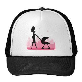 Baby Stroller Trucker Hat