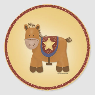Baby Stuffed Animal Horse Stickers