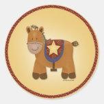 Baby Stuffed Animal Horse Stickers