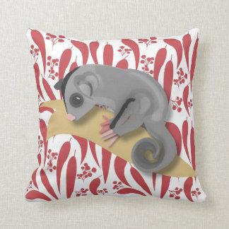 Baby Sugar Glider Throw Pillow