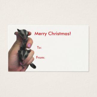 Baby Sugar Gliders Merry Christmas Big Tag
