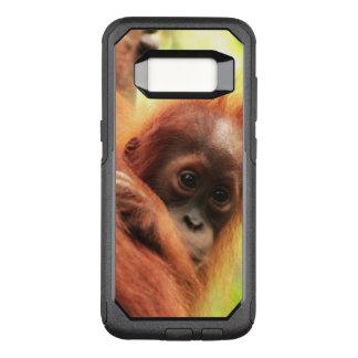 Baby Sumatran Orangutan OtterBox Commuter Samsung Galaxy S8 Case