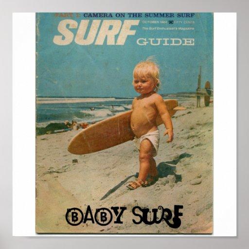 baby surf, Baby Surf Print