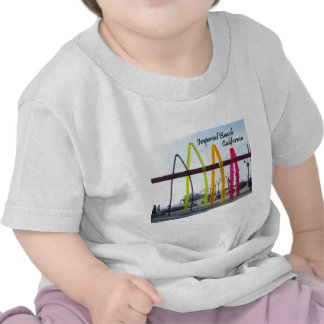 Baby Surfhenge Imperial Beach T-shirts