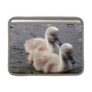 """Baby Swans 13"""" MacBook Sleeve"""