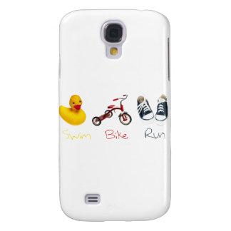 Baby Swim Bike Run Galaxy S4 Cases