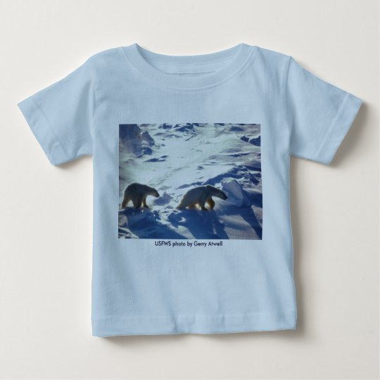 Baby T (2) / Polar Bears in Cape Lisburne Baby T-Shirt