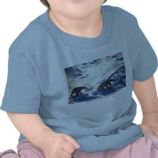 Baby T (2) / Polar Bears in Cape Lisburne Tshirt