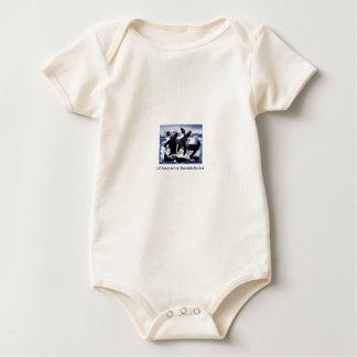 Baby T / Adelie Penguins Baby Bodysuit