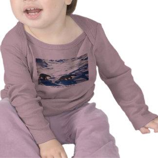 Baby T / Polar Bears in Cape Lisburne T-shirts