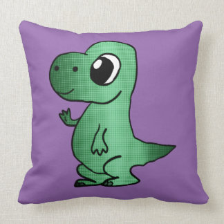 Baby T-Rex pillow